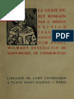 Le genie du rit Romain