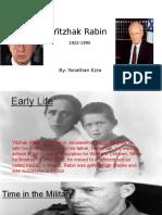 Yitzhak Rabin PPT
