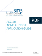 AS9120 AQMS Auditor Application User Guide
