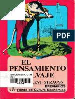 Strauss Claude Levi - El Pensamiento Salvaje