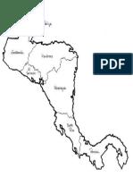 Centro America Mapa
