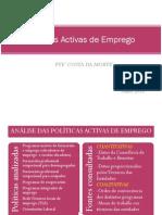Presentación. Políticas activas de emprego no PTE Costa da Morte