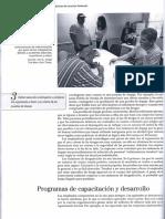 Programas de capacitacion y desarrollo, RR.HH