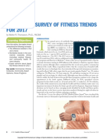 Worldwide Survey of Fitness Trends for 2017