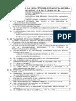 Siglo XX. Tema 4. La Creación Del Estado Franquista. Fundamentos Ideológicos y Apoyos Sociales