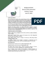 Thayer Burma Military Rule and Ethnic Minorities