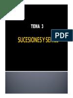 Tema 3 - Sucesiones y Series