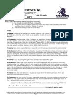 j5 - Activate b1 - Final Exam - 2015 (Key)
