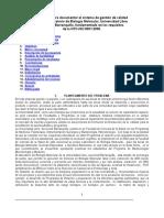 Documentos de Un Sistema de Gestic3b3n de Calidad