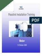 Installation Pasolink Training.pdf
