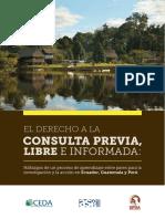 Derecho a La Consulta Previa Libre e Informada - SPDA