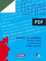 Guia - Glosario de Salud Laboral y Prevencion de Riesgos Laborales
