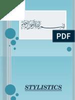 Stylistics Presentation