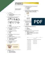 Evaluación de Informatica Grado Tercero 2017