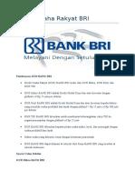 Jenis Kredit Bank