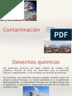 Salud y Trabajo Contaminación.ppt