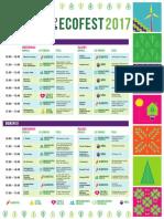 Agenda Ecofest 2017