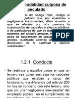 PECULADO IMPRUDENTE, DISTRRACCION, DESFALCO Y neg.incompatible.traficoinfluencias.ppt