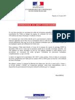 2017-03-21CP HC - Versement Par l'Etat Au RSPF Du Solde de La Dotation 2016