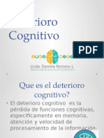 Deterioro Cognitivo