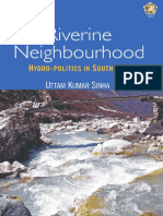 Riverine Neighbourhood, Hydropolitics in South Asia -- Uttam Kumar Sinha (2016)