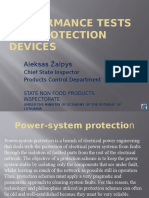 Performance Tests for Protection Devices_Mr ZALPYS