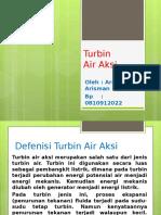 Turbin Air Aksi