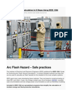 EEP-Arc Flash Hazard Calculation in 9 Steps Using IEEE 1584-AAA