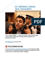 """Israel-funded """"infiltrators"""" behind London campus provocation.docx"""