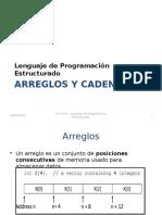 2 - Arreglos y Cadenas