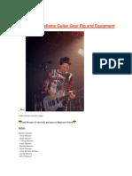 Guitar Rig Matt Bellamy