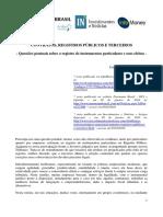 Contratos, Registros Públicos e Terceiros