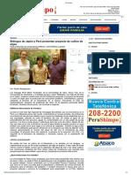 Biólogos de Japón y Perú Presentan Proyecto de Cultivo de Algas