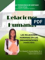 Relaciones Humanas en Las Organizaciones Gestión Organizacional