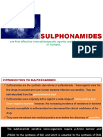 Sulpha Drugs