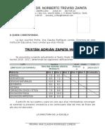 Constancia de Estudios Con Calificaciones Actual