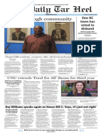The Daily Tar Heel for March 22, 2017