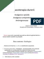 11. Farmacoterapia durerii. Analgezice opioide. Analgezice  antipirerice. Antimigrenoase.pdf
