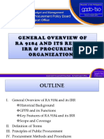 [2] Gen Prov & Proc Org. [TYTAR]