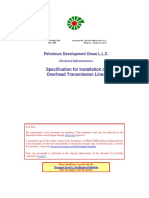 Installation of Overhead Transmission Lines