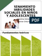 Entrenamiento en Habilidades Sociales en Niños y Adolescentes