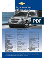Chev Traverse 2009_Getting to Know