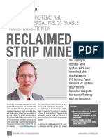 Onsite MBR Systems and Ezflow Dispersal Fields Enable Transformation of Reclaimed Strip Mine...by Dennis Hallahan, Infiltrator Water Technologies