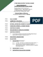 March 23, 2017 Kawartha Pine Ridge District School Board agenda