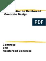 Chap 1 Introduction to Reinforced Concrete Design
