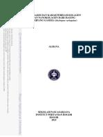 Alhana 2015, Nanokolagen Teripang