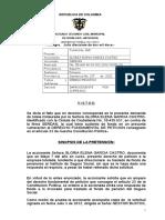 Sentencia Tutela Hecho Superado 2012-000351 Gloria Elena Garcia