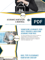 Trouvez la meilleure assurance habitation à Montréal pour vous
