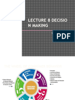 Lecture 8 - Decision Making-student