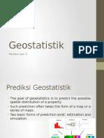Pertemuan 2 Geostatistik